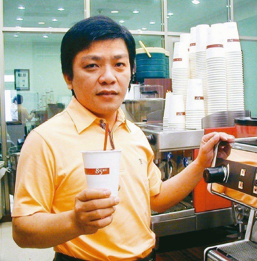 圖為美食-KY董事長吳政學。報系資料照