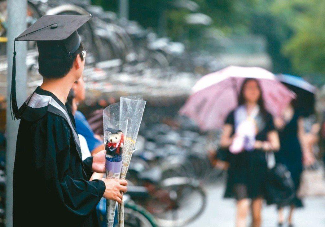每年到了7、8月,台灣不少年輕人都要面臨人生中重要的選擇。圖/報系資料照