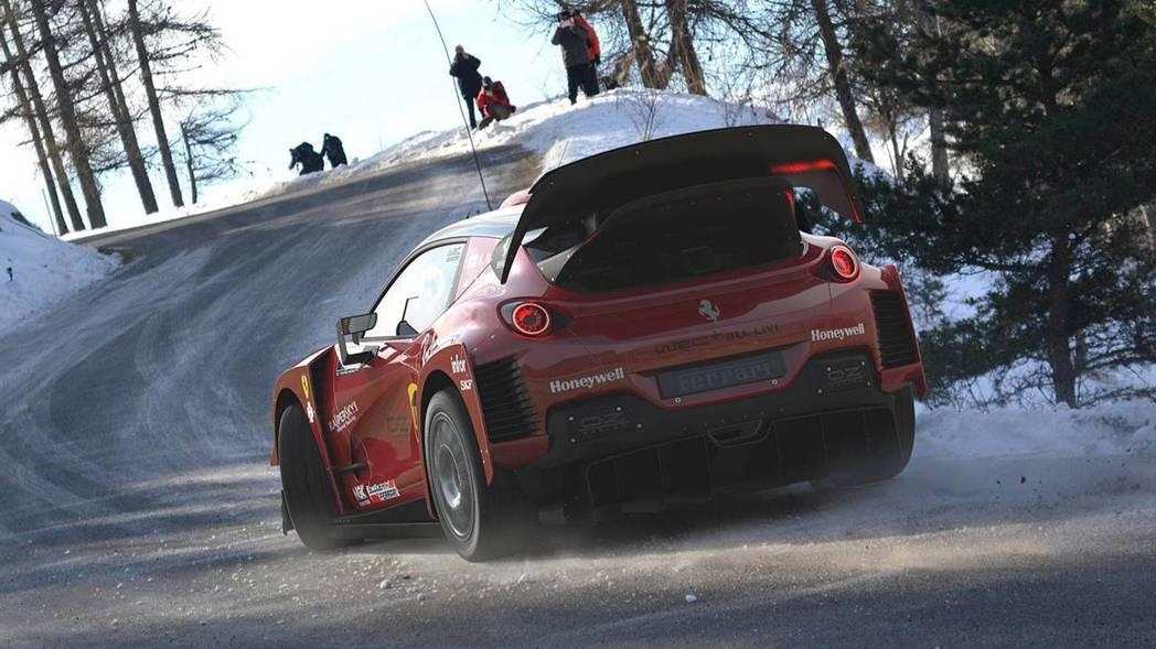 應該沒有人想過Ferrari可以拿來跑拉力賽吧。 摘自Motor1