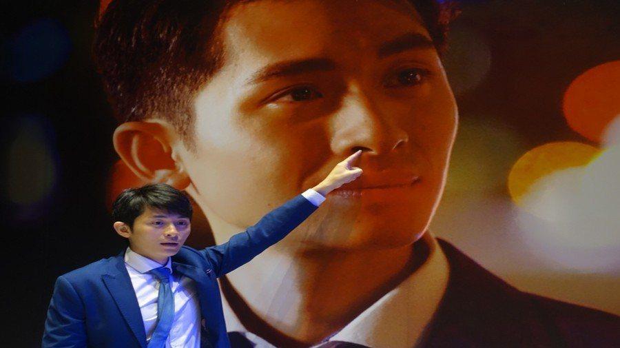 知名脫口秀演員曾博恩製作諷刺深夜秀《博恩夜夜秀》瞄準亞洲娛樂市場。(photo