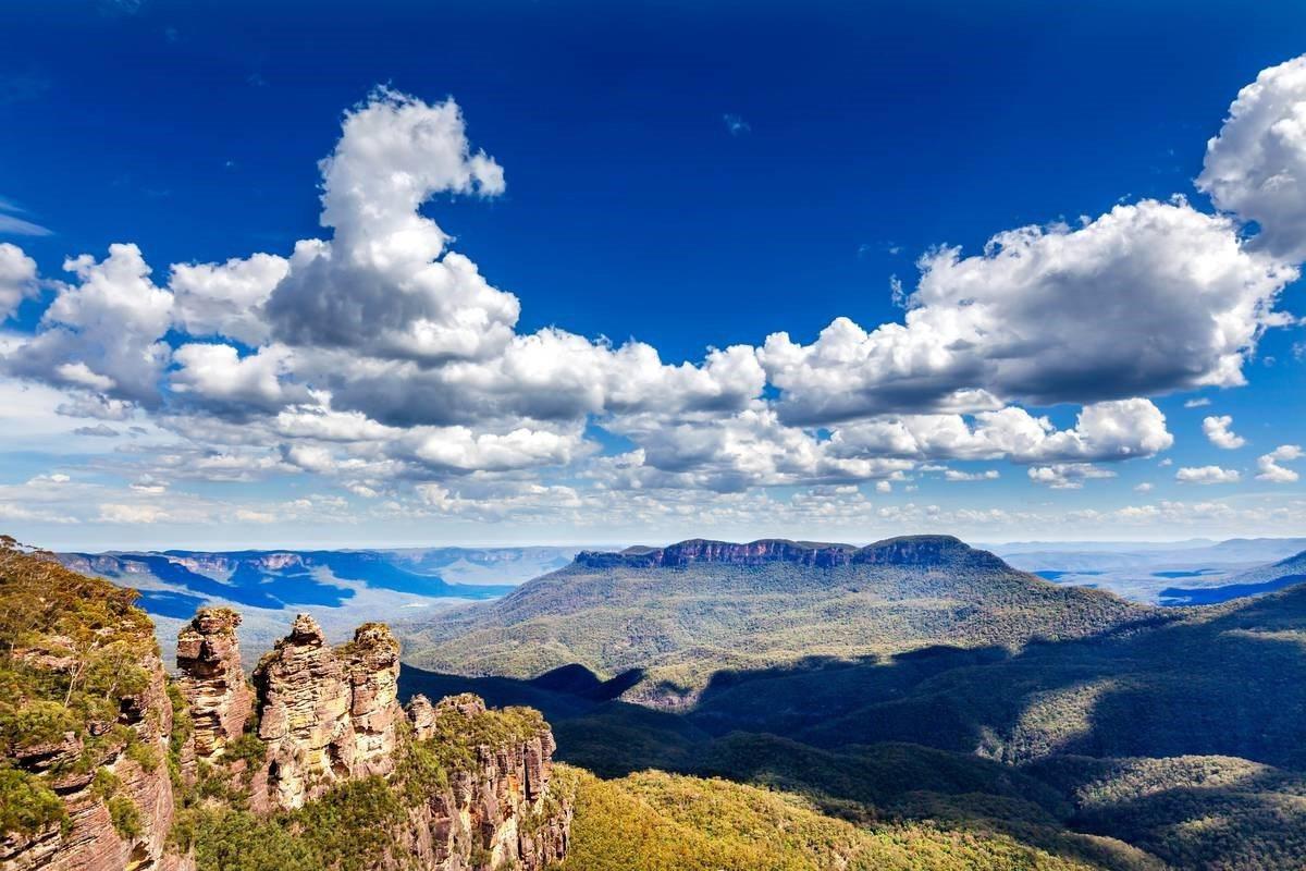 藍山國家公園。 圖/in-australien.com