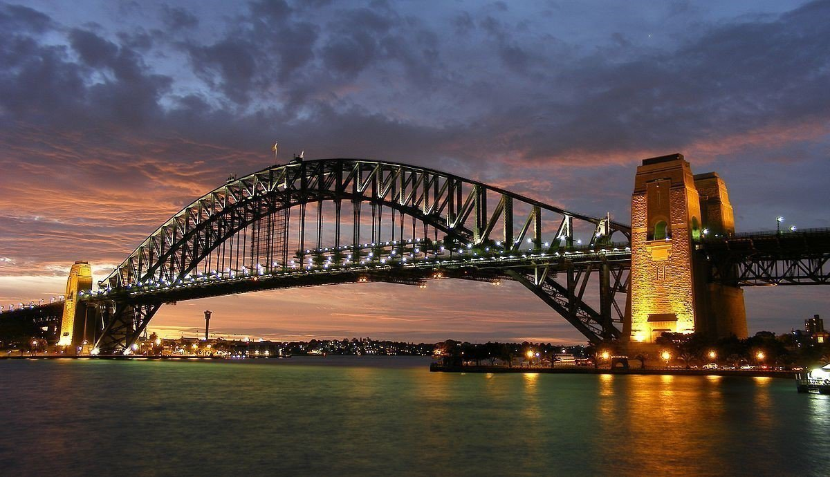 港灣大橋。 圖/wiki