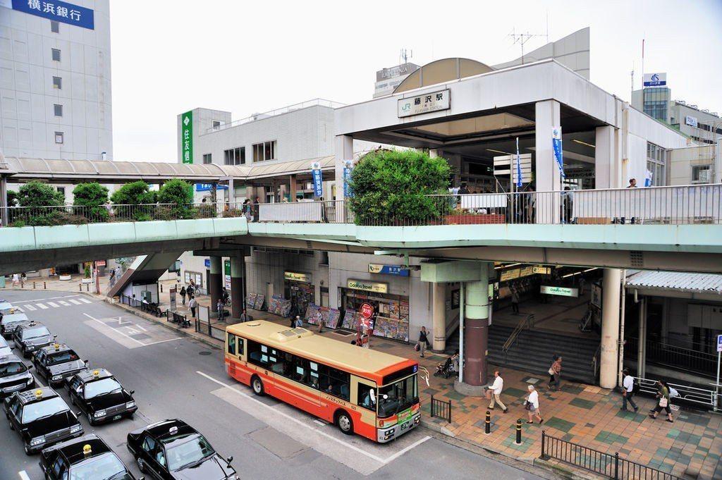 藤澤車站。 圖/wiki