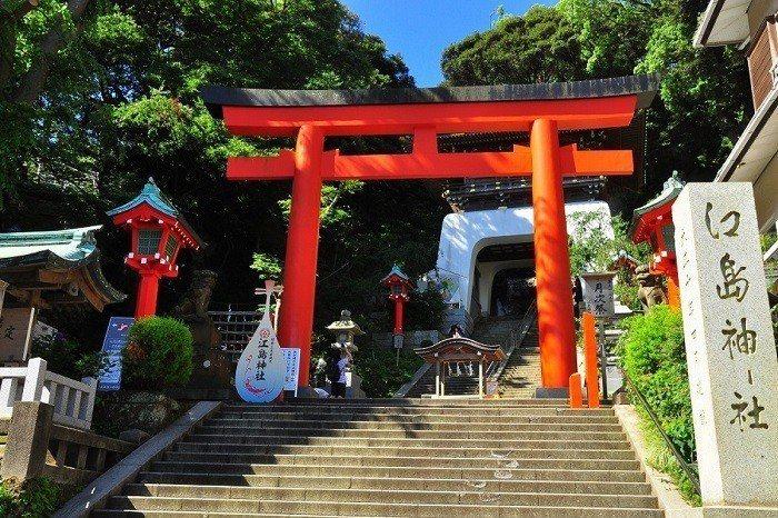 江島神社。 圖/zh-tw.zekkeijapan.com