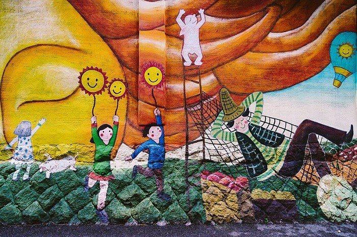 梨花洞壁畫村。 圖/wiki
