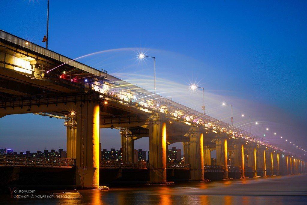 盤浦大橋。 圖/Flickr