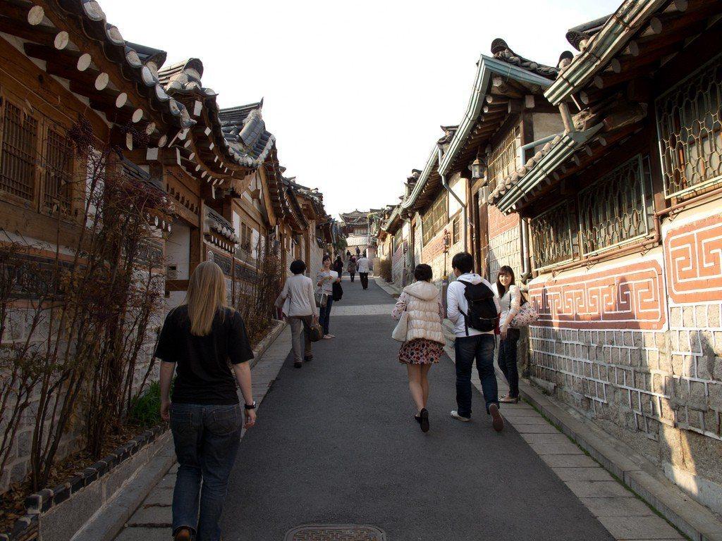 北村韓屋村。 圖/Flickr