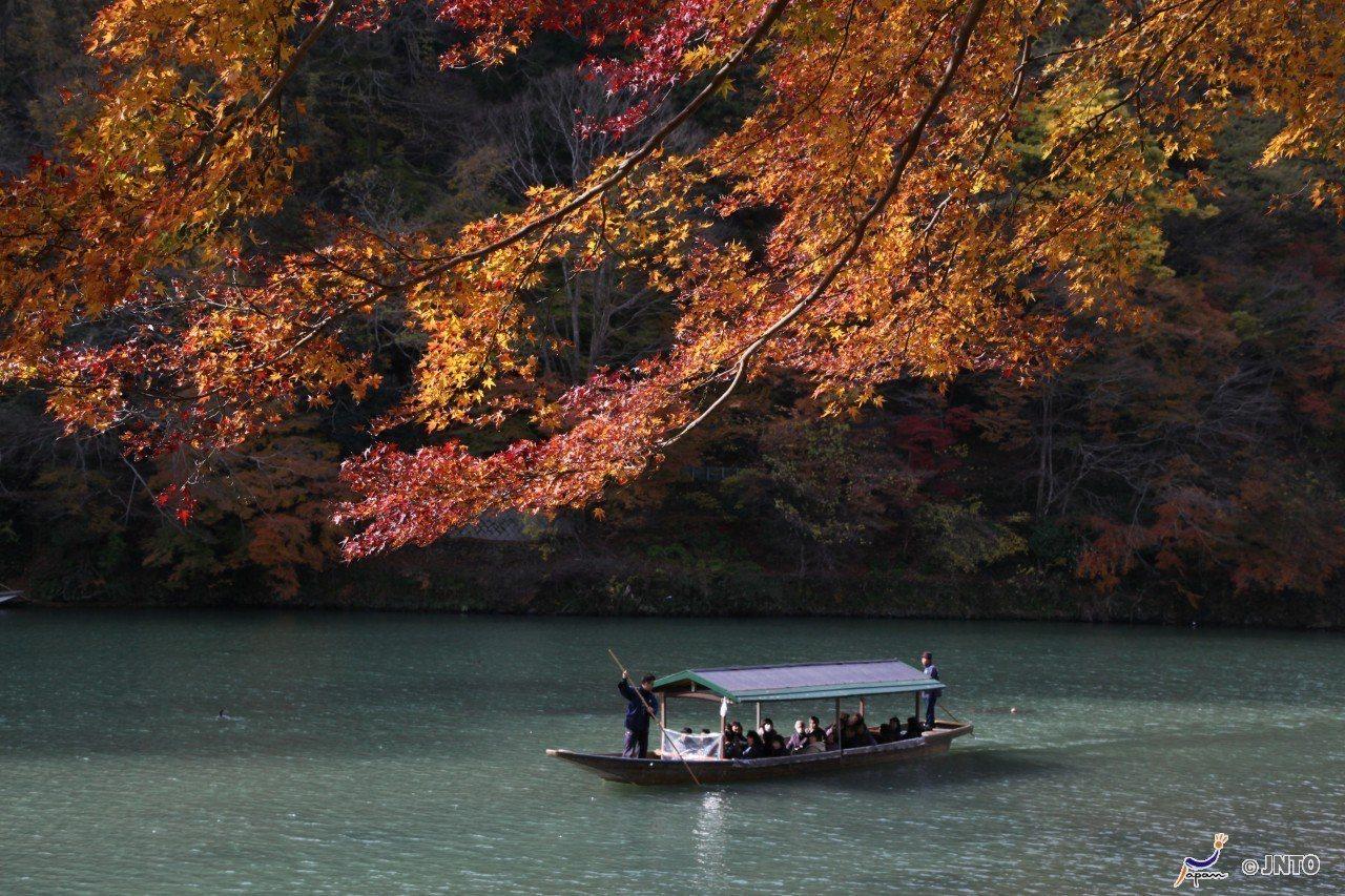 ▲日本打卡景點-京都嵐山保津峽。(圖/©Yasufumi Nishi/©JNTO...
