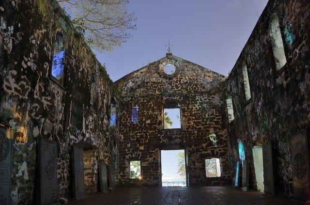 ▲馬六甲文化旅遊景點-聖保羅教堂。(圖/攝影者:Tristan Schmurr,...