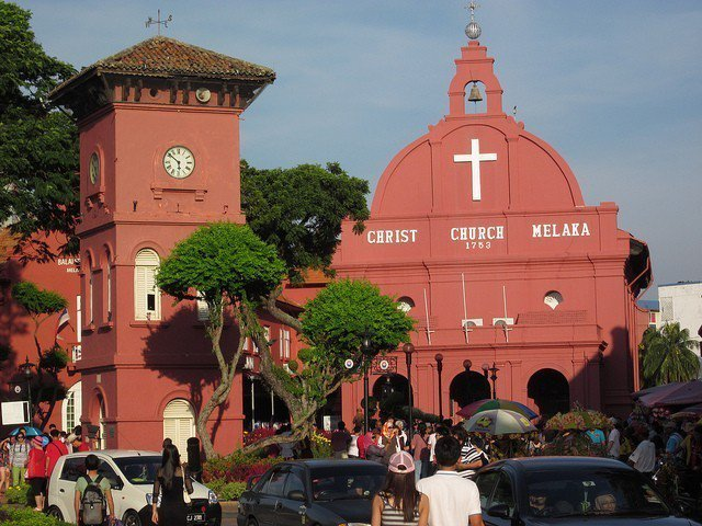 ▲馬六甲文化旅遊景點-基督教堂。(圖/攝影者:Ken Marshall, Fli...