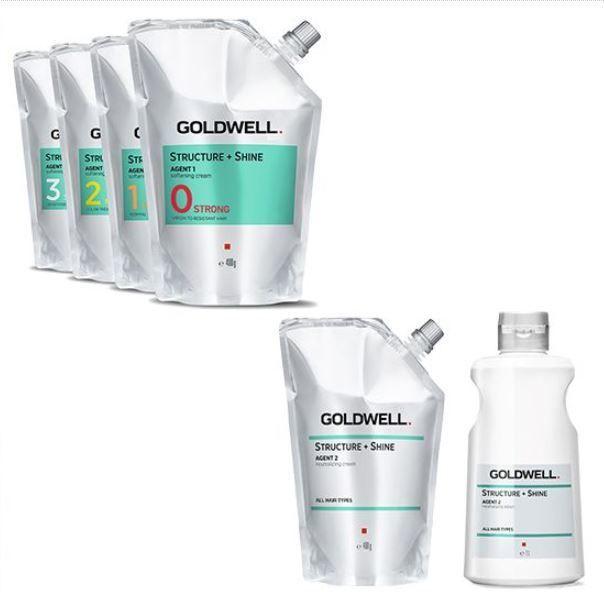 圖/(右上) GOLDWELL新熱力塑質霜一劑藥水 四種強度供選擇:0 – 健康...