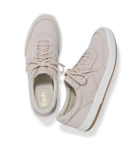 Keds Match Point系列牛巴戈材質鞋款,3,290元。圖/Keds提...