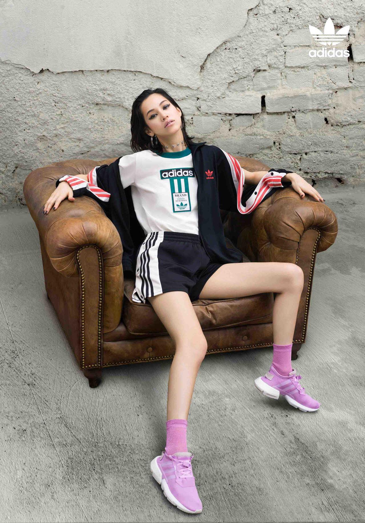adidas Originals 邀请水原希子个性示范POD SYSTEM梦...