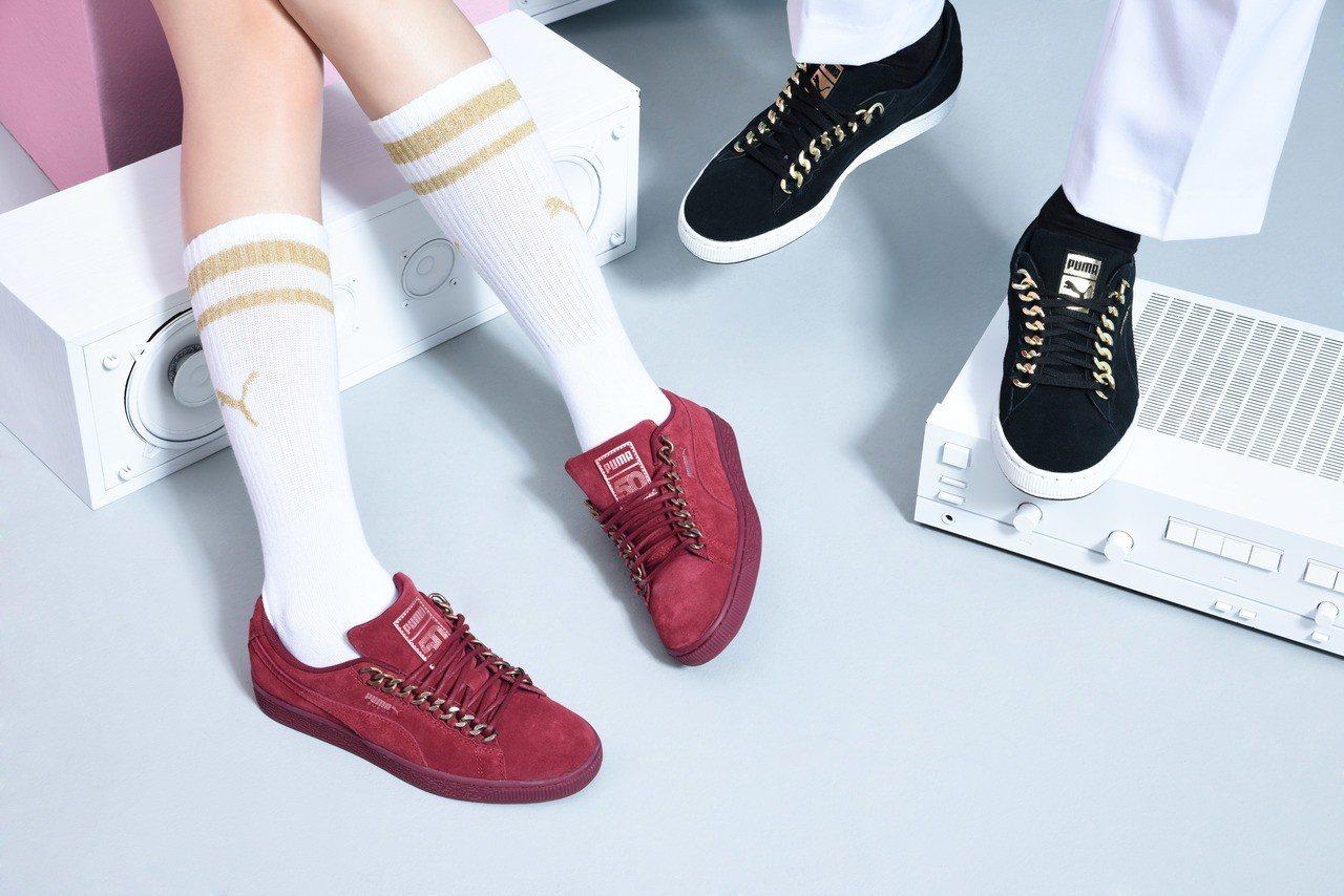 PUMA Suede Classic Chain系列鞋款,3,380元。 图/PU...