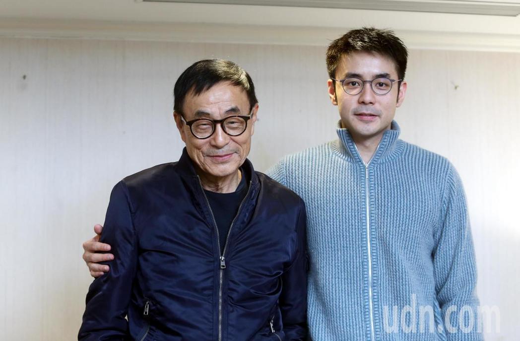 劉家昌(左)氣指劉子千不夠格待在演藝圈。圖/聯合報系資料照