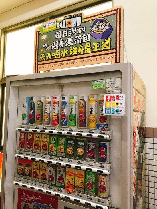 飲料含糖,應注意攝取量。圖/嘉南藥理大學提供