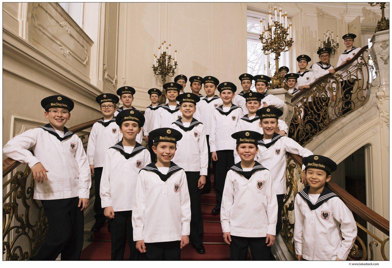 享譽全球的合唱天使—維也納少年合唱團,今年10月在玉山銀行的贊助下將來台巡演。圖...