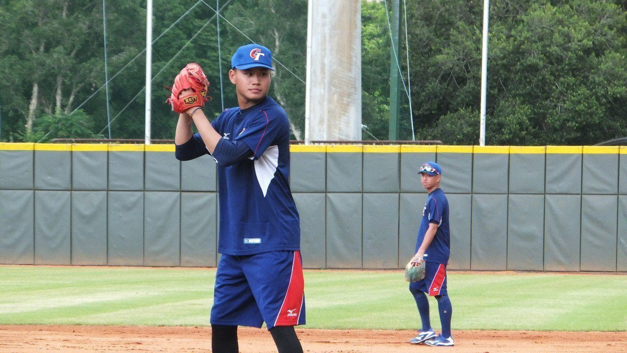 林樺慶26日將在亞運棒球賽對決南韓隊,為中華隊爭取首勝。記者藍宗標/攝影