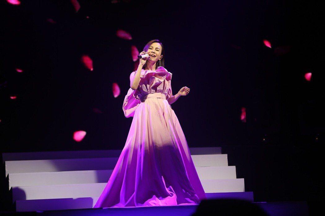 彭佳慧首次在大陸舉辦「我想念我自己」巡演。圖/索尼提供