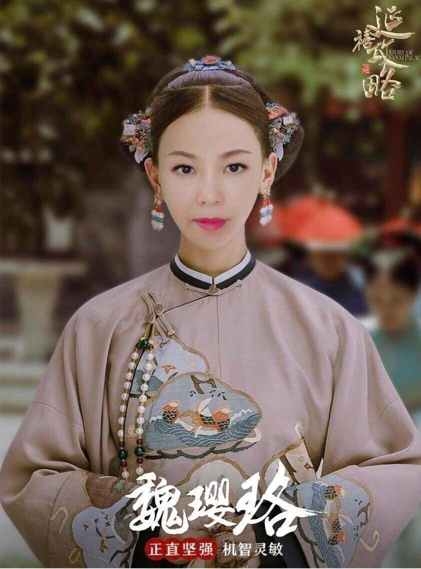 彭佳慧是「延禧攻略」的劇迷,趕流行合成化身「彭跪妃」。圖/索尼提供