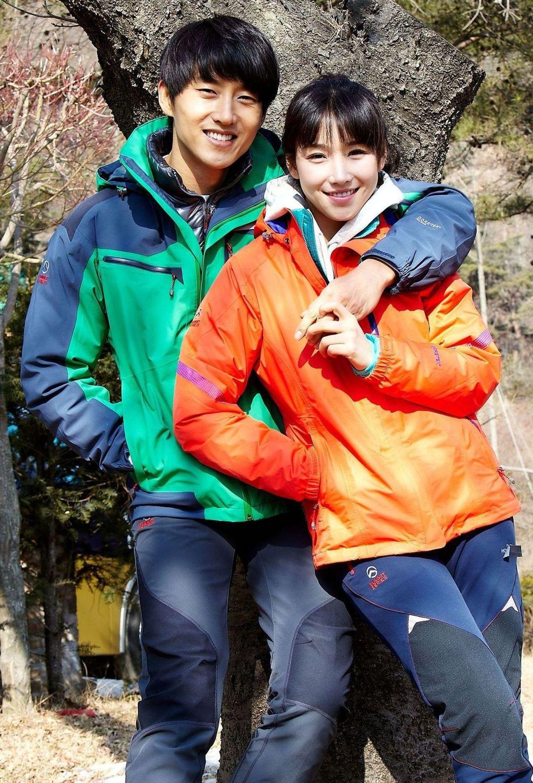 玄宇成、李幼梨在「黃色復仇草」戲中,戀情從甜蜜到分手。圖/中天娛樂台提供