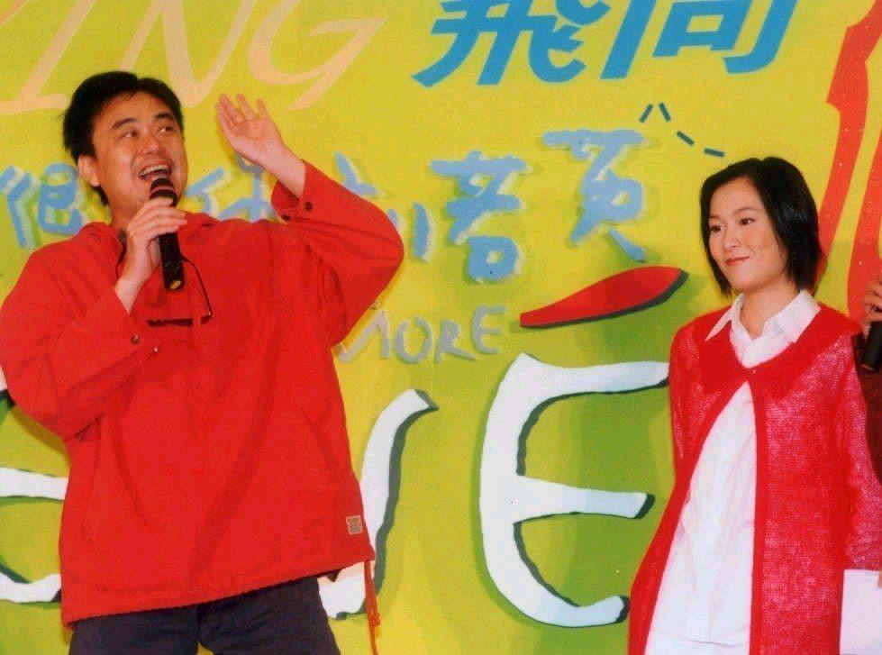 陳昇(左)是劉若英的師父。圖/聯合報系資料照