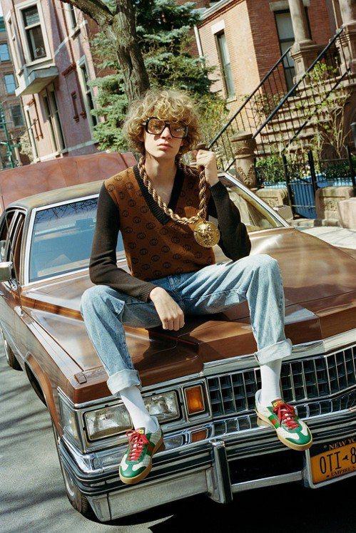 Gucci-Dapper Dan聯名系列以品牌的視角,重新演繹Dapper Da...