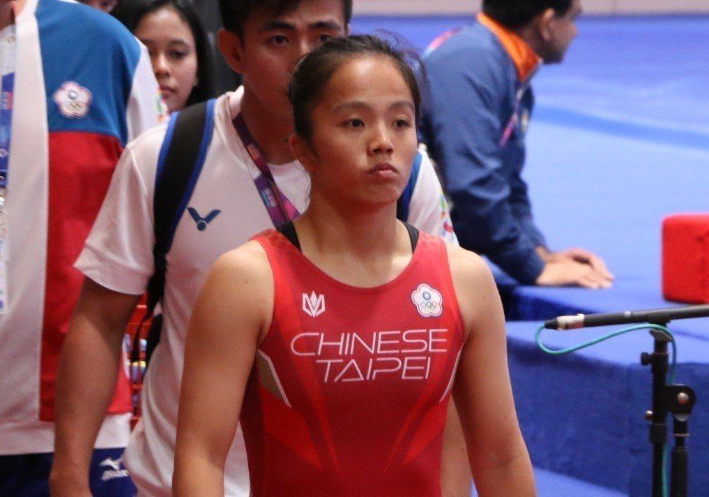 中華女子角力自由式53公斤級選手邱欣如亞運初登場,與獎牌擦身而過。台體實習記...