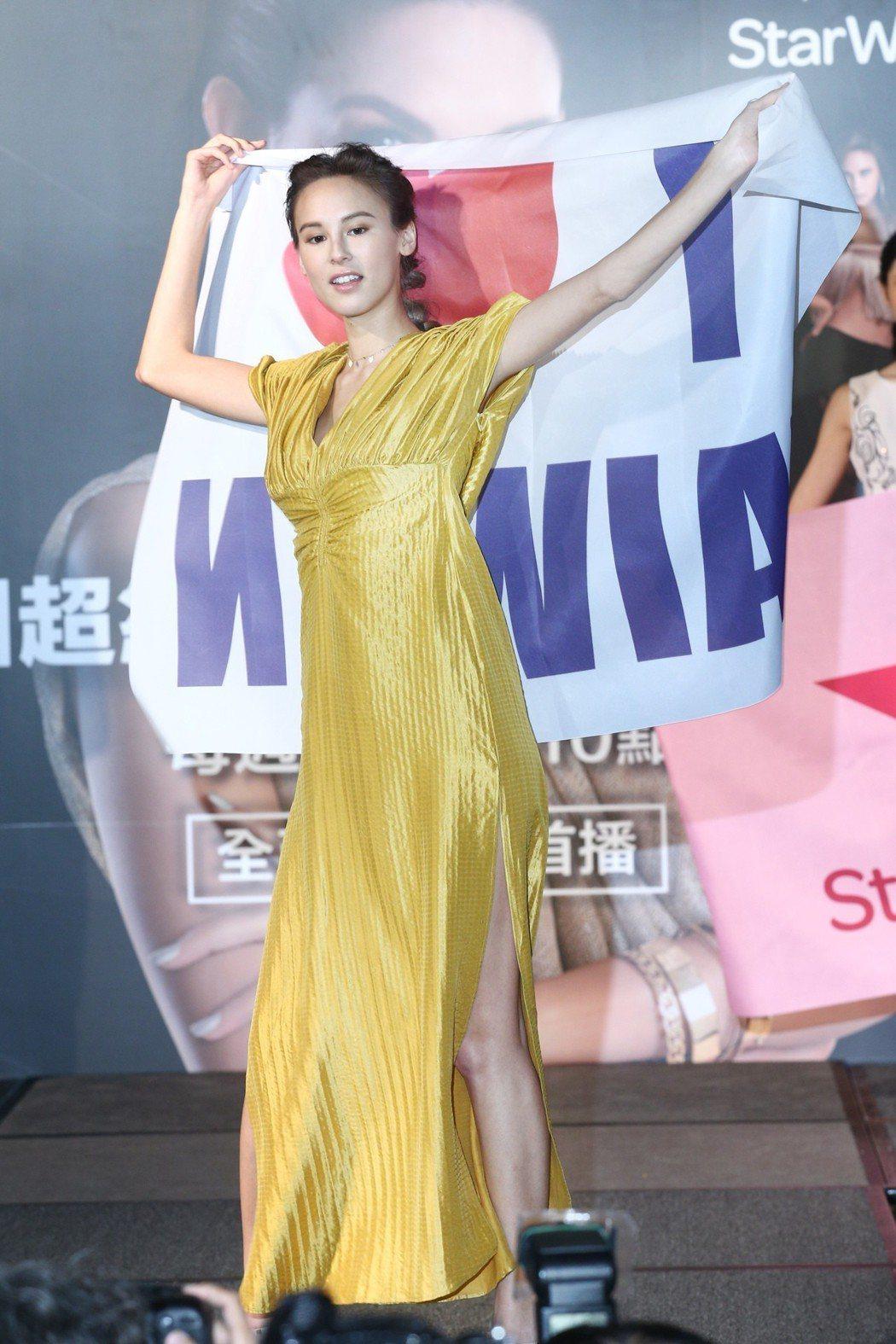 第六季白彌兒下午出席Star World「亞洲超級名模生死鬥」最新第六季記者會,...
