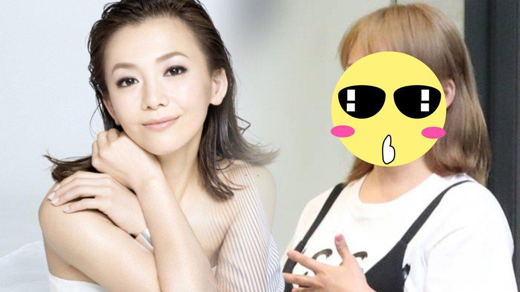 日本資深玉女華原朋美發福。圖/摘自realsound.jp、摘自女性自身