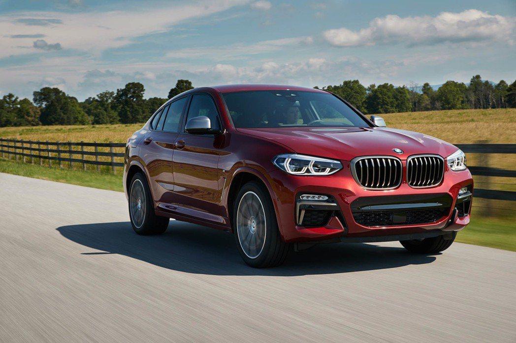 全新BMW X4近期將在台發表。 摘自BMW