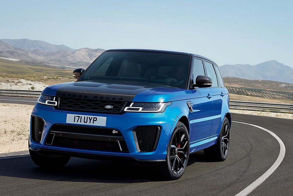 性能旗艦Land Rover Range Rover Sport SVR。 圖/...