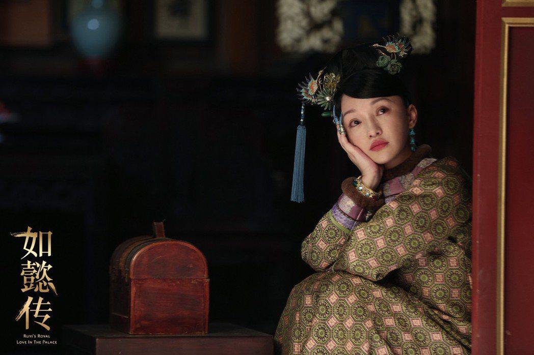 周迅主演「如懿傳」,菸嗓詮釋少女如懿引起熱論。圖/擷自微博