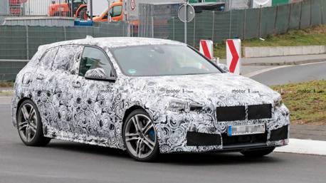 BMW 前驅底盤 M140i紐柏林現蹤 會使用xDrive嗎?