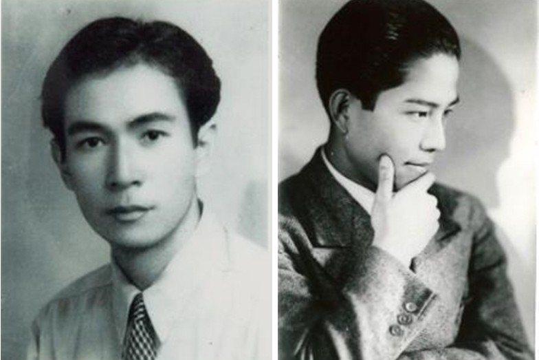 左為呂赫若,右為江文也。 圖/維基共享