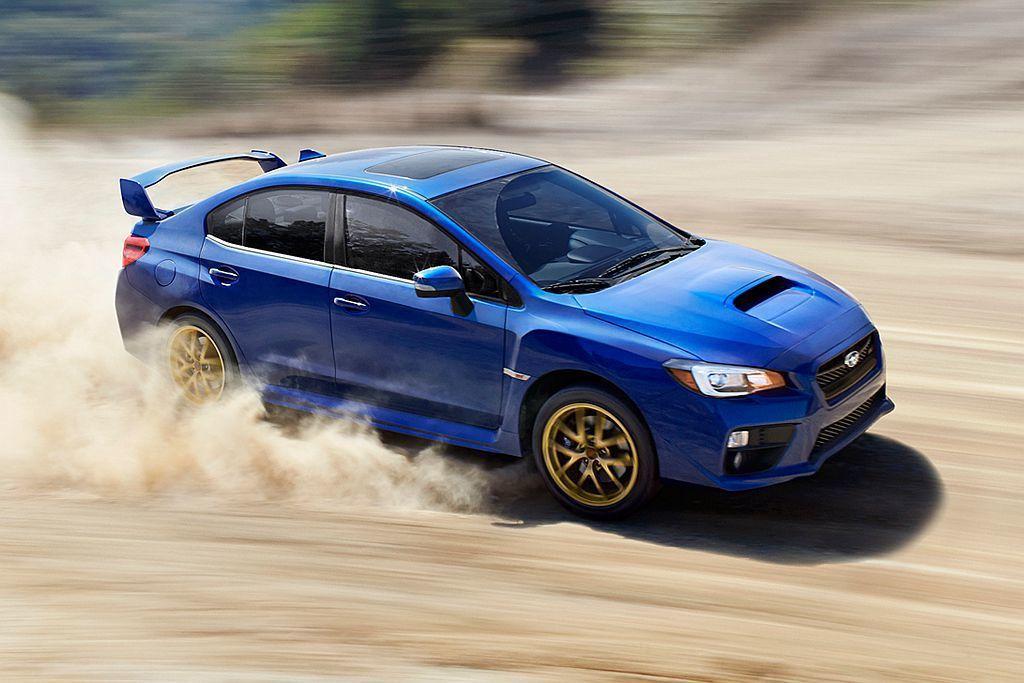 Subaru汽車的WRC越野精神深植人心,也使高達40.1%的WRX STI車主選擇藍色。 圖/Subaru提供
