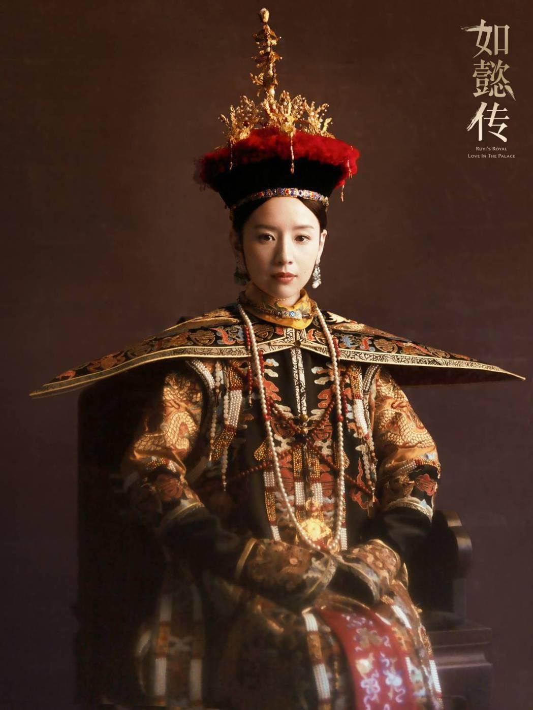 董潔演出「富察皇后」一角被讚美。圖/摘自微博