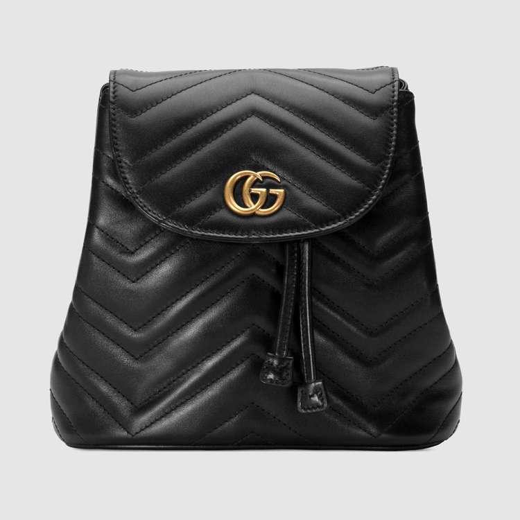 GG Marmont鍊帶後背包,64,500元。圖/Gucci提供