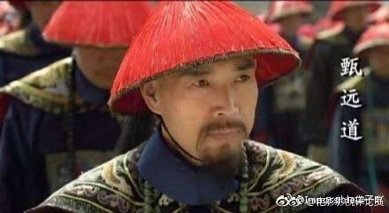 沈保平在「甄嬛傳」中演「甄嬛」的爸爸。圖/摘自微博
