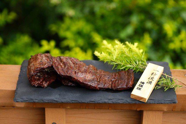 烤橫隔膜是樂軒和牛專門店必嘗的一道菜肴。圖/樂軒和牛專門店提供