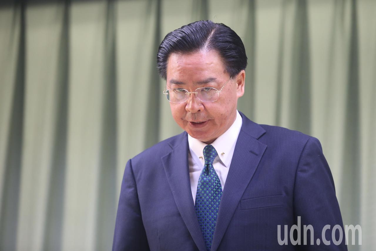 我國宣布與薩爾瓦多斷交。高層人士表示,外交部長吳釗燮沒有下台負責的問題。聯合報系...