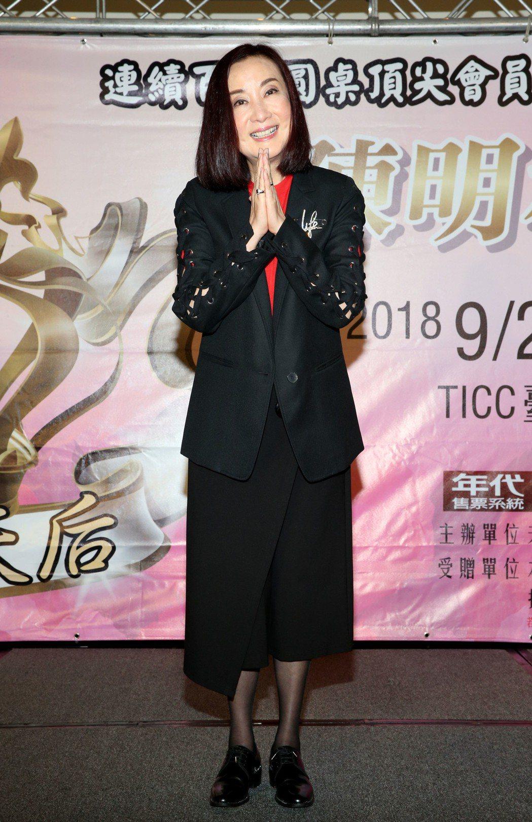 70年代紅極一時女星陳明利,移居新加坡38年,如今已是華人保險天后。圖/奧汀整合...