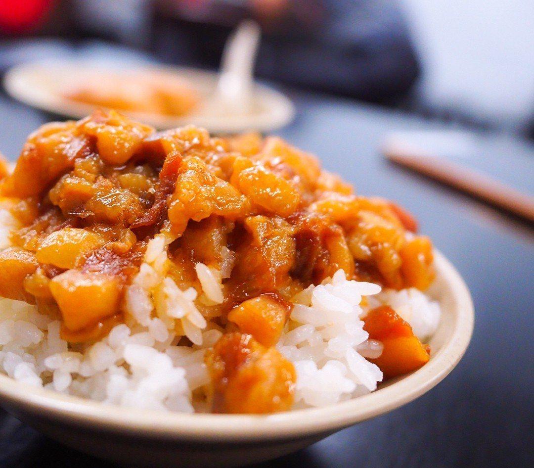 今大魯肉飯在google上有4.3分的高評價。圖/網友dindin_eat_fo...
