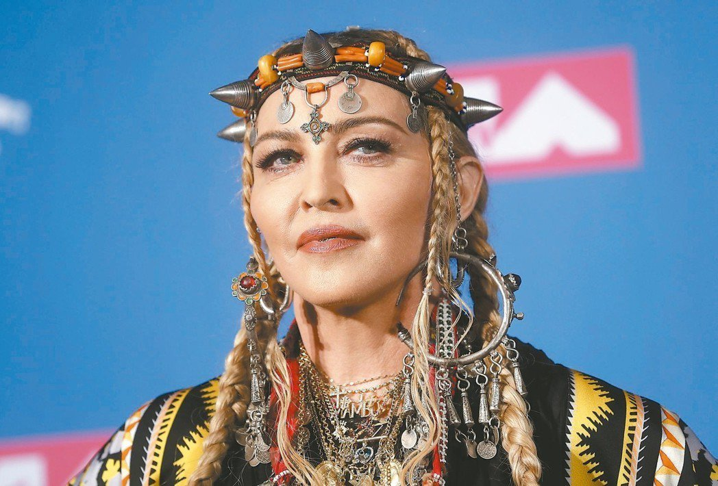瑪丹娜。 路透