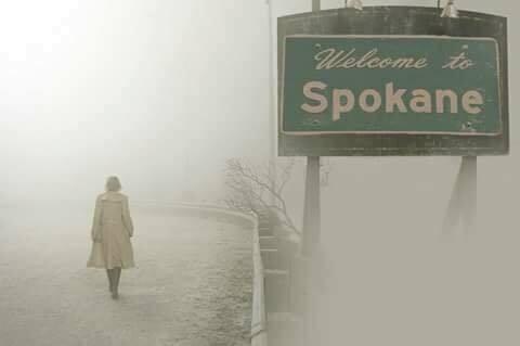 加拿大的森林大火讓美國華盛頓州的斯波坎也跟著煙霧瀰漫。圖/翻攝臉書Spokane...