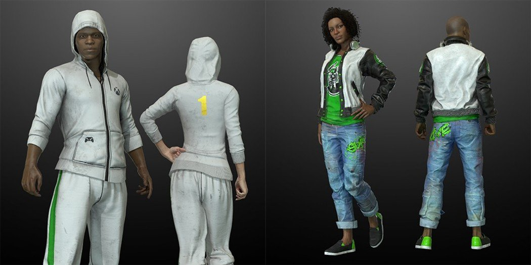 《絕地求生》以Xbox品牌特色打造專屬角色外觀套件。