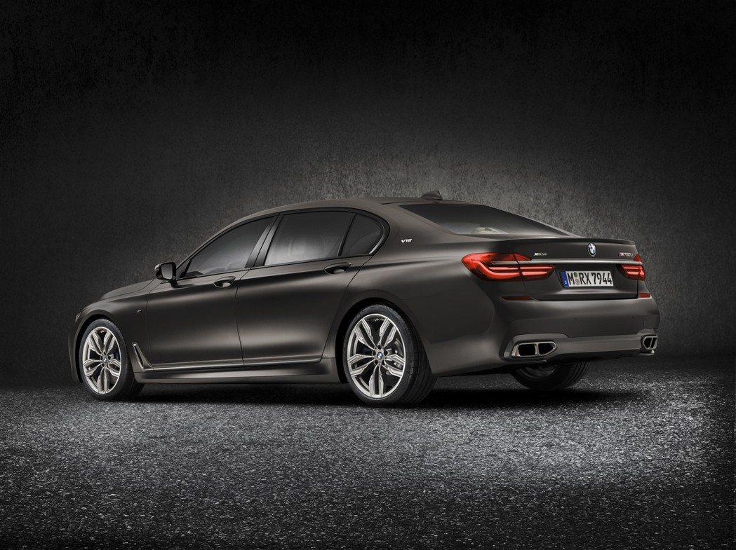 BMW M760Li xDrive。 摘自BMW