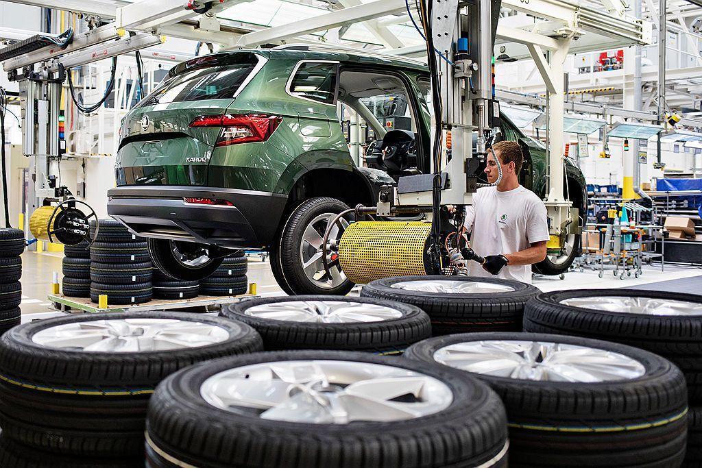 Skoda第100萬輛SUV,8月初於捷克Kvasiny新車生產基地下線。 圖/...