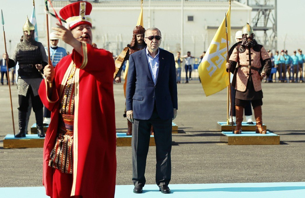 亞塞拜然至土耳其的跨安納托利亞天然氣管道(TANAP),只向土耳其供應60億立方...