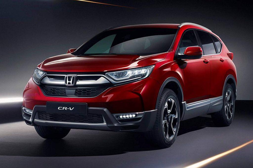 全新第五代Honda CR-V由於尚未在歐洲、日本市場開賣,使今年銷量沒有過往這...